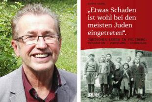 Dr. Dieter Vaupel und sein neues Buch. Fotos: Schüren Verlag   nh