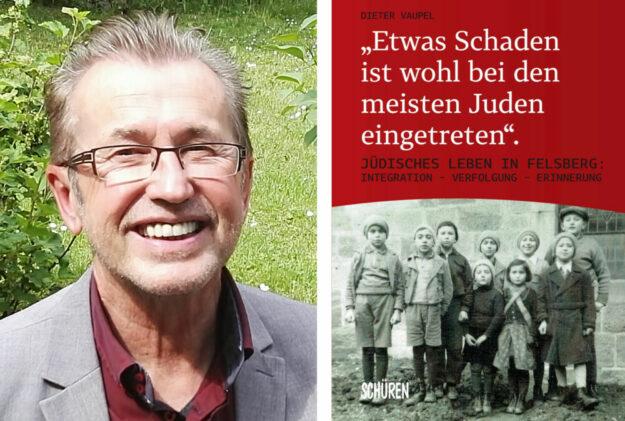 Dr. Dieter Vaupel und sein neues Buch. Fotos: Schüren Verlag | nh
