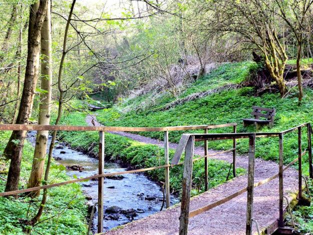 Die Brücke im Sunderbachtal. Foto: Kultur- & Tourist-Info Melsungen