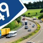 Die Autobahn 49 ist aktuell wieder ein Streitthema, mit dem sich politische Akteure im Landkreis beschäftigen. Foto : seknews.de