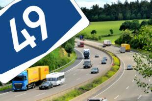In einer Pressenotiz plädiert die IHK Kassel-Marburg für einen zügigen Lückenschluss der A 49 zur A 5. Foto : seknews.de