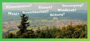 Die Bündnisgrünen laden zu einem Zukunftspodium über Bad Zwesten ein. Foto: Hindemith | nh