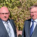 Mit Markus Karl Pollok und Achim Jäger hat sich die FWG im Landkreis nach der Ära Mutschler/Werner mit neuer Parteispitze positioniert. Foto: nh