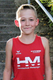 Jean Heilmann freut sich über seinen sportlichen Erfolg. Foto: nh