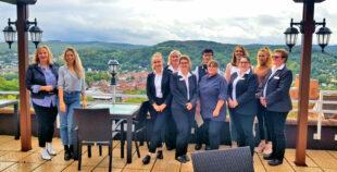 Wer vorne ist, ist wichtig – davon sind die Tourismusspezialisten im Mittleren Fuldatal überzeugt. Foto: nh