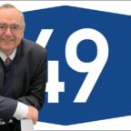 Bernd Siebert (CDU) fordert den zügigen Weiterbau der Autobahn 49. Montage: seknews.de