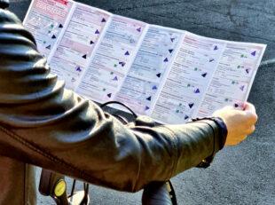 Die Stempelkarte weist zahlreiche Radspaß-Stationen aus. Foto: Rotkäppchenland