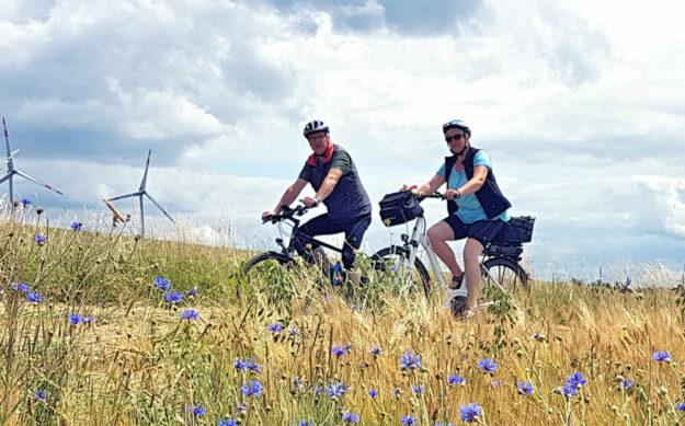 Das Rotkäppchenland steckt voller märchenhaft schöner Radfahrstrecken, die jedes Jahrs aufs neue erkundet werden wollen. Foto: Rotkäppchenland