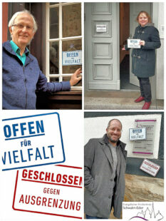 Die Dekane Christian Wachter, Sabine Tümmler und Norbert Mecke vertreten drei der ins Netzwerk eingebundenen Kirchenkreise. Foto: nh