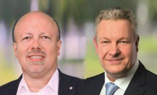 """CDU-Stadtverbandsvorsitzender Armin Happel und Fraktionschef Marcus Theis laden zur Mitwirkung am Konzept """"Hey Schwalmstadt"""" ein. Fotos: nh"""