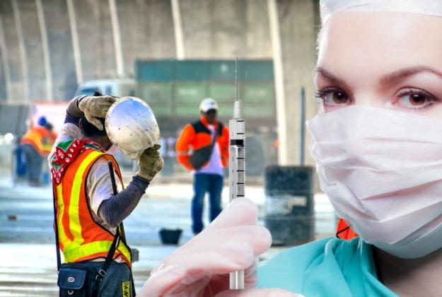 Impfen und Arbeitswelt – welche Spielregeln sollen aktuell gelten? Fotos: Pixabay   Montage: SEK-News
