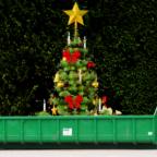 Ausgediente Tannenbäume können am Samstag direkt zur Grünabfallsammelstelle gebracht werden. Fotomontage: gsk
