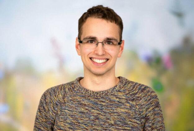 Christoph Sippel, Votenträger der Grünen Jugend. Foto: nh