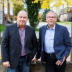 Stefan Jens Witzel (li.) und Klaus-D. Lehmann haben namens der freien Wähler*innen einen Maßnahmenkatalog für Melsungen zusammengestellt. Foto: FWG