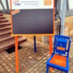 """Für eine rege Beteiligung an der Aktion """"Der bewegte Stuhl"""" dankt die FWG Ottrau. Foto: nh"""