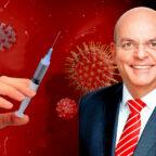 Der Gesundheitsexperte Dr. Edgar Franke (MdB) fordert zügigere Impfungen nach bayerischem Vorbild. Montage: gsk