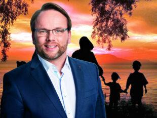 Timon Gremmels, SPD, erläutert auch Änderungen 2021, die insbesondere Familien zugute kommen sollen. Fotomontage: gsk