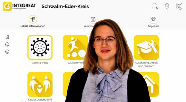 Hannah Zimmerling ist die Bildungskoordinatorin des Schwalm-Eder-Kreises. Quelle: Philipp Klitsch | Kreisverwaltung Schwalm-Eder