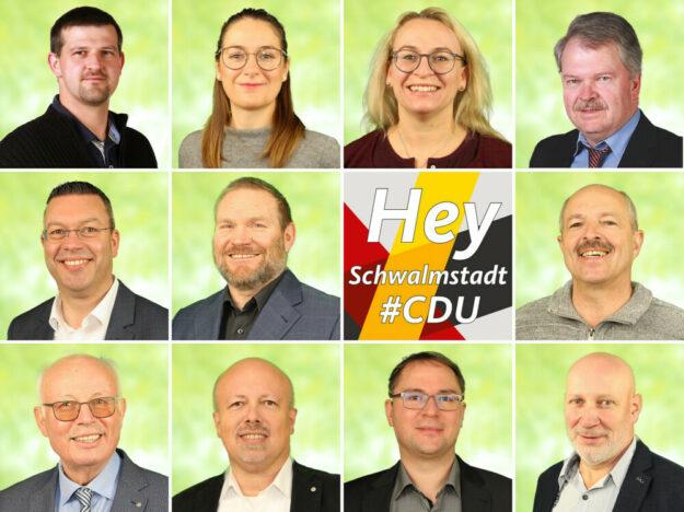 Die Liste der Kandidat_innen steht. Gemeinsam wollen sie die Zukunft gestalten. Collage: CDU