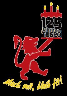 Mach mit, bleib fit! Seit 125 Jahren ist der TuSpo Borken seinem löwenstarken Motto treu. Grafik: TuSpo Borken