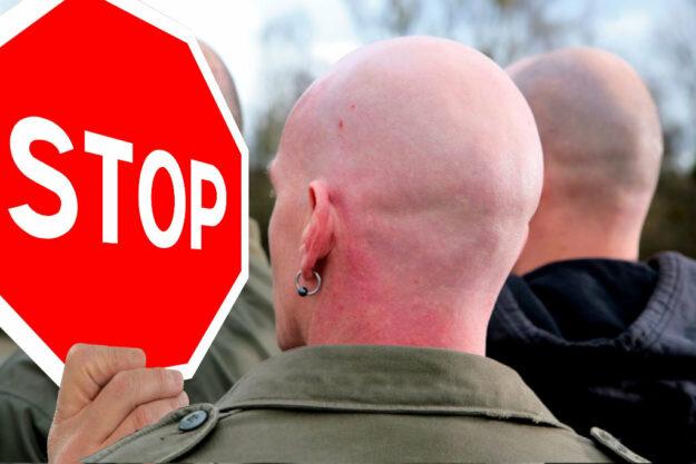 Rechtsextremistische Aktivitäten müssen jetzt gestoppt, radikale Sümpfe trocken gelegt werden. Foto: nh
