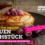 Das Bündnis 90/Die Grünen Schwalm-Eder lädt für kommenden Sonntag zum Frauenfrühstück ein. Grafik: nh