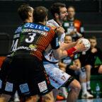 Felix Danner (7 Tore), der in Angriff und Abwehr einen souveränen Part ablieferte. Foto: Alibek Käsler