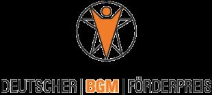 Logo der Aktion BGM Förderpreis. Grafik: nh