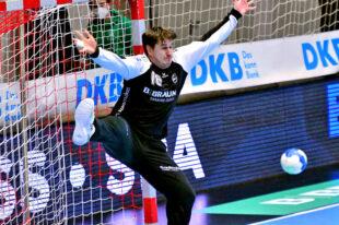 Heute Abend geht es für die MT Melsungen ins Auswärtsspiel beim SC DHfK Leipzig (ab 19:00 Uhr in der QUARTERBACK Immobilien Arena). Unser Bild zeigt Nebojsa Simic im Hinspiel. Foto: Heinz Hartung