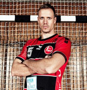 MT Rückraumspieler Lasse Mikkelsen zieht es zurück in seine dänische Heimat. Foto: Alibek Käsler