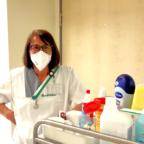 Pflege- und Serviceassistentin Erika Trübelhorn ist aus dem Klinikalltag nicht mehr wegzudenken. Foto: Asklepios