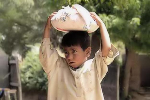 Eines der Straßenkinder wie sie zu Tausenden die Straßen im Mittleren Osten bewohnen. Foto: Region Verlag