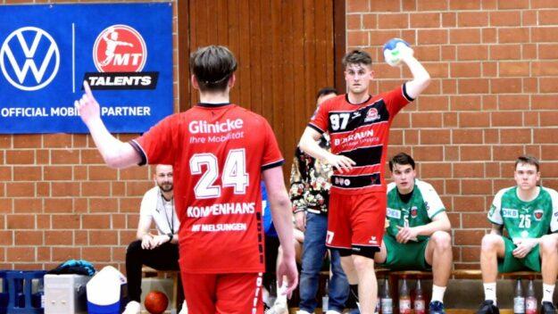 Im Halbfinal-Rückspiel der MT Talents lief es für die A-Jugend im Kampf um die Deutsche Meisterschaft gegen die Füchse Berlin nicht gut. Foto: Michael Koch
