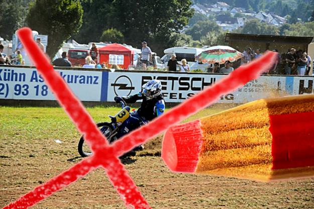 Auch in diesem Jahr sagen die Veranstalter das Internationale Grasbahnrennen ab. Montage: gsk