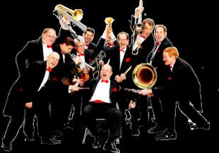 Die Brass Band Berlin spielt dem Kultursommer-Publikum im Schlosspark Philippsthal auf. Foto: Bert Loewer