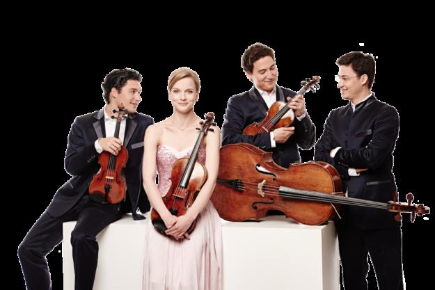 Das Schuhmann Quartett konzertiert im Schlosshof von Meinhard-Jestädt, in Bad Arolsen und im Kurpark von Bad Karlshafen. Foto: Kaupo Kikkas