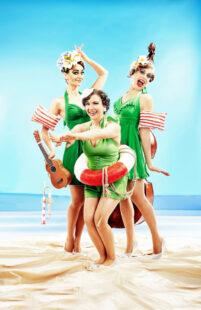 Spaß am Strand mit den Zucchini Sistaz. Foto: Witte Wattendorff