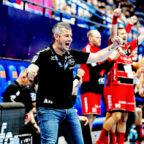Cotrainer Arjan Haenen war beim Auswärtsspiel in Lemgo eine würdige Vertretung für Gudmundur Gudmundsson. Foto: Alibek Käsler