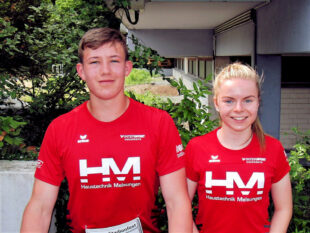 Luis André und Vivian Groppe werden am Wochenende in Rostock die Farben der MT Melsungen bei den deutschen Jugendmeisterschaften vertreten. Foto: nh