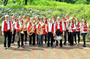 Die Knüllwaldmusikanten haben nach der Lockdown-Zeit die Proben wieder aufgenommen. Foto: nh