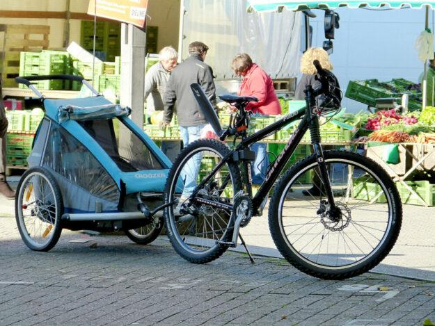 Viele Wege lassen sich mit dem Fahrrad besorgen, sofern die Kommunen über eine gute Verkehrsinfrastruktur verfügen. Damit die Verkehrswende auch in Melsungen klappt, bekommt die Stadt vom Land Hessen einen Förderzuschuss. Foto: Harald Matern | Pixabay