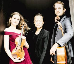 Das Trio Marvin sind Dasol Kim am Klavier, Marina Graumann mit der Violine und Marius Urba am Cello. Foto: Zuzanna Specjal
