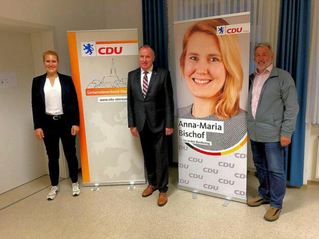 Anna-Maria Bischof, Klaus Wagner und Dieter Groß (v.li.). Foto: CDU Oberaula