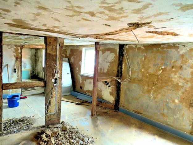Baustelle am Wohnhof Treysa Quelle: G. Schlamann