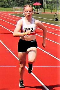 Vivian Groppe machte mit ihrer 200m-Zeit von 24,34 Sekunden den nächsten Leistungssprung. Foto: nh