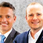 Der Vorstandsvorsitzende Carsten Rahier (li.) und sein neuer Stellvertreter Martin Kersten. Fotos: nh   Montage: Schmidtkunz