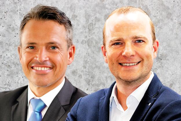 Der Vorstandsvorsitzende Carsten Rahier (li.) und sein neuer Stellvertreter Martin Kersten. Fotos: nh | Montage: Schmidtkunz