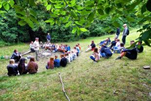 Das Lagerleben mit Bildungseffekt hinterließ bei den jungen Leuten bleibende Eindrücke. Foto: nh