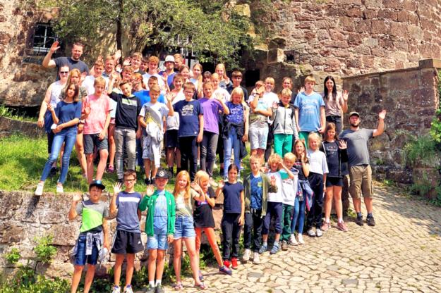 Die Haspel-Freizeit auf der Jugendburg Ludwigstein war für die jungen Teilnehmer ein voller Erfolg. Foto: nh