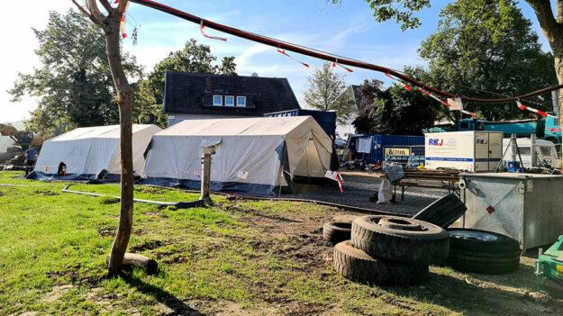 Bereitstellungsplätze müssen im Hochwassergebiet ebenfalls vorgehalten werden. Foto: nh